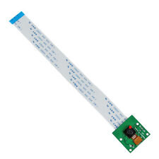 Placa del módulo de Cámara Video Cámara web de 5MP 1080p 720p para Raspberry Pi 3 Verde A4 X5A4