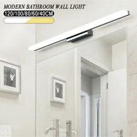 Bathroom LED Anti-fog Mirror Front Make-up Wall Light Toilet Vanity Lamp Modern.