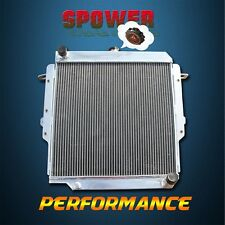 3 Row 56MM Aluminum Radiator For Toyota Land Cruiser HZJ75 75 Series 1HZ Diesel