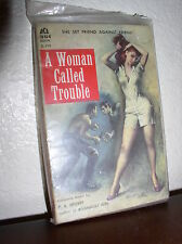 A Woman Called Trouble by P. A. Hoover (Ace D-290,1958,Paperback)