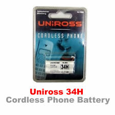 Uniross 34H Cordless Phone Battery 2.4V 600mAh  ( BC101686 )