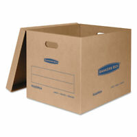 Bankers Box SmoothMove Classic Large Moving Boxes 21l x 17w x 17h Kraft/Blue 5