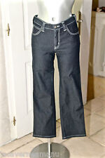 luxueux jeans stretch indigo femme ARMANI JEANS taille W28 L28 COMME NEUF