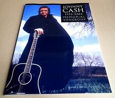 JOHNNY CASH 1932-2003 - MEMORIAL SONGBOOK - PIANO / VOCAL / GUITAR - NEUF NEW