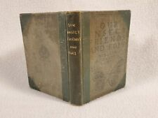 1925 Insect Friends And Foes Illustrated Flies Ants Beetles Wasps Praying Mantis