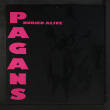 PAGANS: Buried Alive LP (marbled vinyl, KBD classic) Punk/New Wave