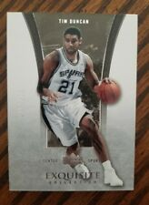 2004 05 Exquisite Tim Duncan Base Card  /225 Hard to Find  Flawless Design Rare