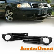 Front Lower Fog Light Side Bumper Grille For Audi A6 C5 2002 2003 2004 2005