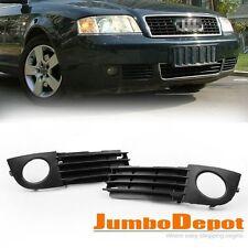 Front Lower Fog Light Side Bumper Grille For Audi A6 C5 2002 2003 2004 2005
