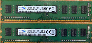 8GB Samsung PC3-12800 DDR3