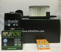 Air / Oil Filter and NGK Spark Plugs fits Suzuki VZ800 / M50 (2005 to 2008)