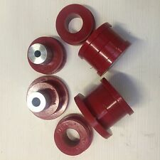 BMW E46 M3 subframe Diff carrier mounting sets Red DURAFLEX Polyurethane