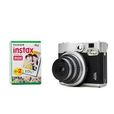 Fuji Instax Mini 90 neo classic + 2 Filme Sofortbildkamera Hochzeitskamera