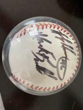 New ListingMark Buehrle Bobby Howry Gary Ward Autographed Baseball 2001 Chicago White Sox