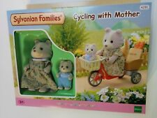 Sylvanian Families 4281 Cycling with Mother Bicycle Baby Basket Bread tricycle
