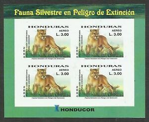 HONDURAS, MI # 1731, BLOCK OF 4, KLEINBOGEN, MNH, VF