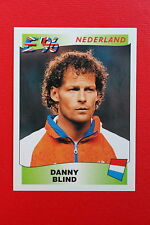 Panini EURO 96 N. 79 NEDERLAND  BLIND New With BLACK back TOPMINT!!