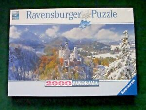 NEW sealed Ravensburger 2000 piece Premium Panorama jigsaw puzzle (166916)