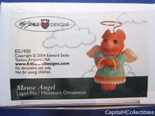 2004 Ed Seale Designs Ornament Mouse Angel Lapel Pin Miniature Ornament EG1950