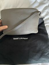 Ysl Lou Camera Bag Saint Lauren Grey