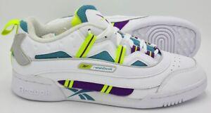 Reebok Workout Plus ATI 3 Deadstock Trainers DV8984 White/Purple UK7/US8/EU40.5