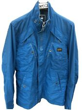 Mens Blue G-Star Raw Lightweight Johnson Solid Overshirt / Jacket size L