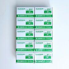 10 Rolls - FUJI Fujifilm FujiColor 100 ISO 35mm 36exp Industrial Color Film - US