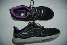 Black Gray & Lavender MERRELL Barefoot Access Arc Laced Sneakers 10.5