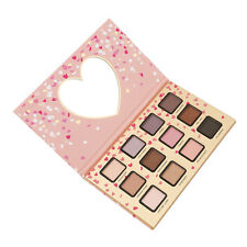 12 Colors Warm Pink Eyeshadow Matte Shimmer Eye Shadow Palette Makeup Cosmetic