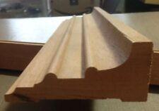 "Decorative Hardwood Lumber Mahogany Molding 2 Pieces 1-3/4""x4""x83 34; Total"