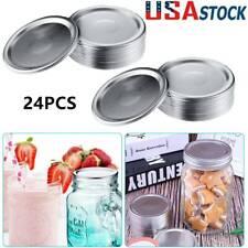 1-24pc Regular Mouth Canning Jar Lids Brand New( 1pc Jar Lids, Da.70mm) US STOCK