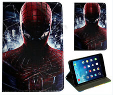 For Apple iPad Mini 1 2 3 4 Spider-Man Marvel DC Comics Smart Stand Case Cover