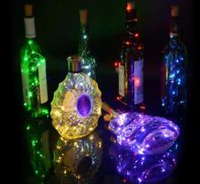 LED Wine Bottle Cork With String  Lights  Wedding Party Christmas Festival Decor