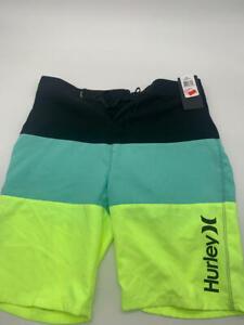 Hurley Boys' Big Classic Board Shorts, Tropical/Black, 20 , may be dirty