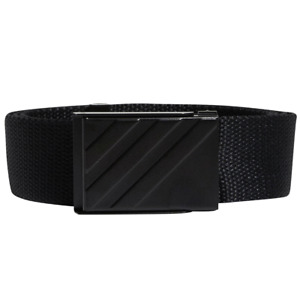 ADIDAS MENS CANVAS GOLF WEBBING BELT - ONE SIZE FITS ALL / ALL COLOURS
