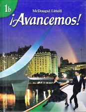 HOLT AVANCEMOS! 1:  HARDCOVER - NEW!