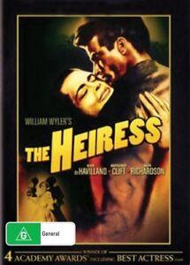 The Heiress DVD New Sealed Australia Region 4