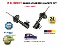 FOR FIAT PANDA 1.1 1.2 1.3D MUTIJET 2003-> 2 x FRONT LEFT & RIGHT SHOCK ABSORBER