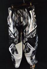 NEW FLY RACING Kinetic Motocross BMX Riding Pants Black & Gray Men's Size 28