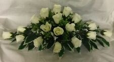 wedding flowers top table decoration ivory roses gyp many cols