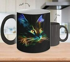 [Color Changing Mug] Lighting Cat - Cat Lover - Inspirational Mug - Coffee Mug G