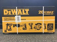 NEW DeWalt DCK590L2-20V MAX Lithium Ion-Drill-Impact-Circular Saw-Tool Combo Set
