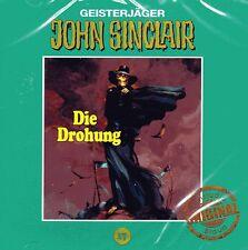 JOHN SINCLAIR - Die Drohung - Tonstudio Braun CD Nr. 17 - NEU OVP