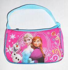 Purse DISNEY FROZEN Pink Sparkle Anna Elsa Olaf Handbag Carry-All Bag