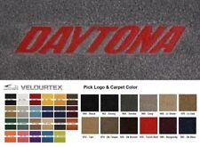 Lloyd Mats Dodge Ram 1500 Daytona Embroidered Velourtex Front Floor Mats (2005)