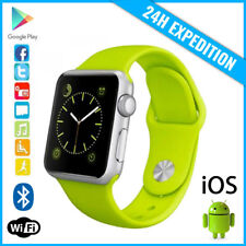 Original A1/W8 Smart Watch Montre Facebook Bluetooth SIM Slot Android iOS Green