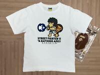 BAPE × Street Fighter collab Baby Milo short sleeve T-shirt size M super rare
