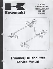 KAWASAKI (see cover list) TRIMMER/BRUSHCUTTER SERVICE MANUAL 99924-2046-01 (131)