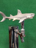 GREAT WHITE SHARK Tap Handle BEER Keg Scuba Surfer Jaws Movie