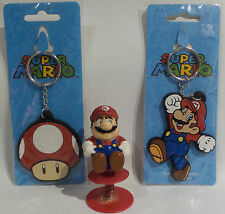 SUPER MARIO BROTHERS : 2 KEY RINGS & ONE POPPER (TK) (SC)